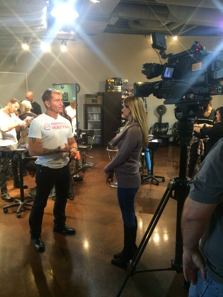 Elev8 Consulting Group Makeovers That Matter Publicity Veterans Day Event with Paul Mitchell