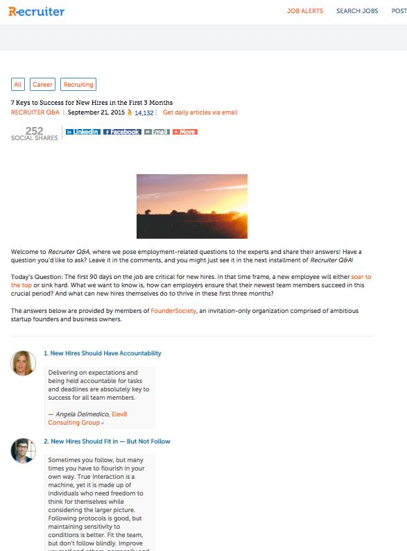 Recruiter.com- Elev8 Consulting Group