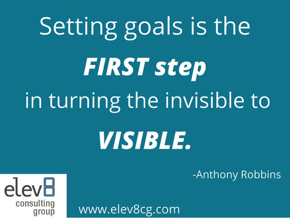 Elev8 Consulting Group Goal Setting