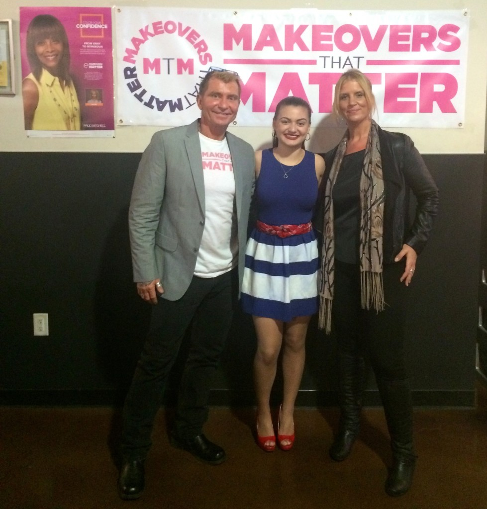Elev8 Consulting Group CEO Angela Delmedico Supports Female Veterans with Makeovers That Matter and Paul Mitchell