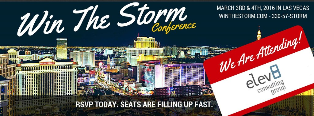 Elev8 Consulting Group CEO Angela Delmedico Presents at Win the Storm Conference