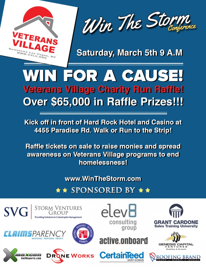 Elev8 Consulting Group Presenting Sponsor Veterans Village Charity Run Las Vegas