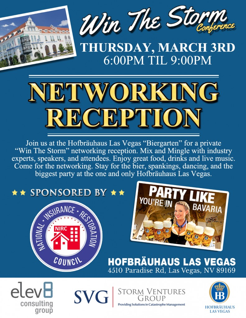 Elev8 Consulting Group Sponsors Networking Reception Storm Ventures Group Win the Storm Conference