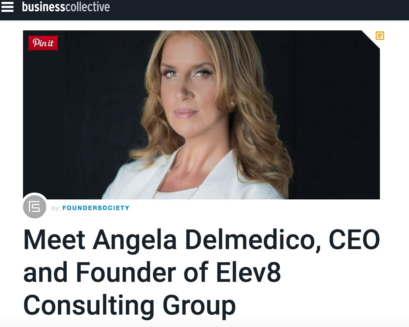 Elev8 Consulting Group Angela Delmedico