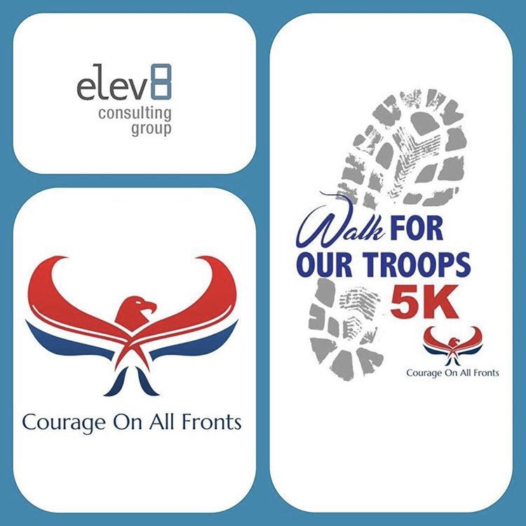 Elev8 Consulting Group Sponsors Courage On All Fronts 5K
