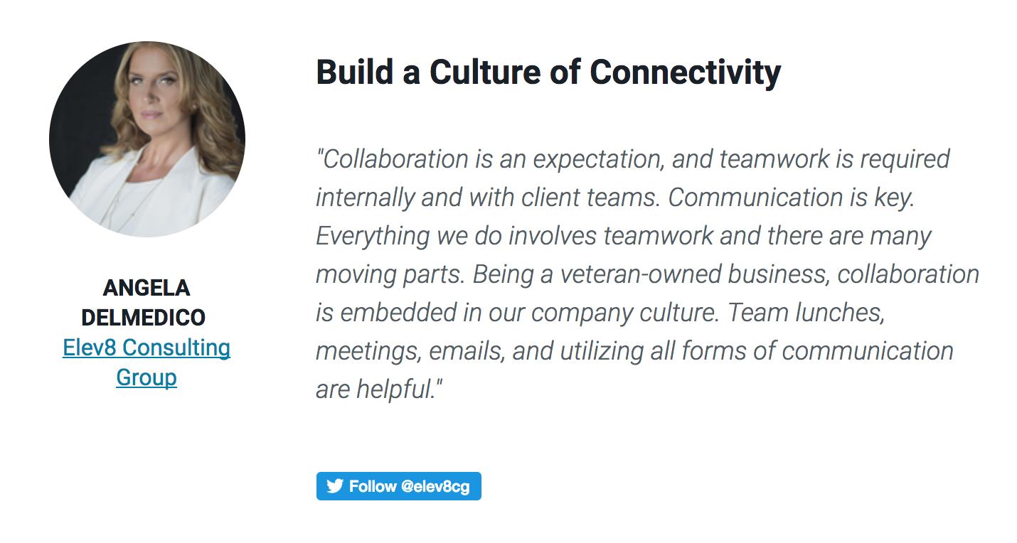 Business Collective featuring Angela Delmedico