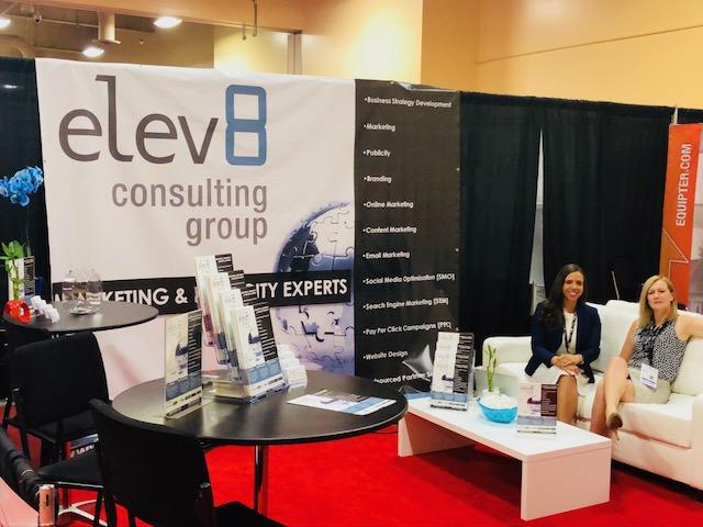 Elev8 Consulting Group CEO Angela Delmedico Presents on Marketing at Las Vegas Conference