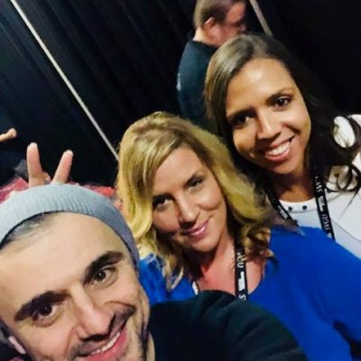 Elev8 Consulting Group CEO Angela Delmedico Meets Gary Vee at Win The Storm Conference Las Vegas Nevada