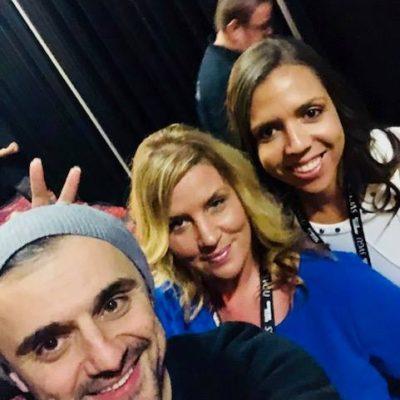 Elev8 Consulting Group CEO Angela Delmedico Meets Gary Vee at Win The Storm Conference Las Vegas Nevada