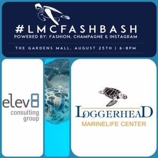 Elev8 Consulting Group CEO Angela Delmedico Sponsors Loggerhead Marinelife Center Fashion Bash in Palm Beach Gardens Florida