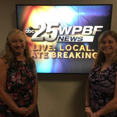 Elev8 Consulting Group Publicity Client Courage On All Fronts for Military Veterans on WPBF Florida