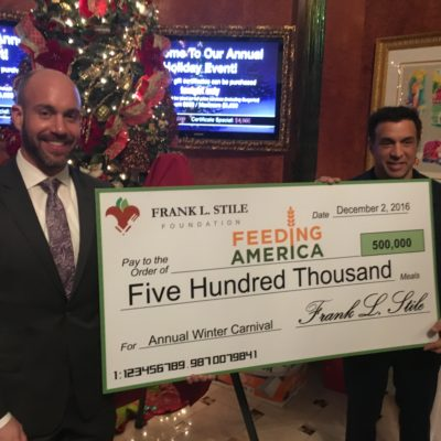 Elev8 Consulting Group Publicity Client Dr. Stile and Frank L. Stile Foundation Feeding America Fundraiser Event Las Vegas