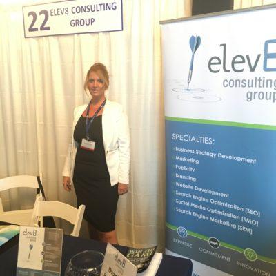 Elev8 Consulting Group CEO Angela Delmedico Presents Marketing and Publicity at Annual Win The Storm Conference Miami Florida