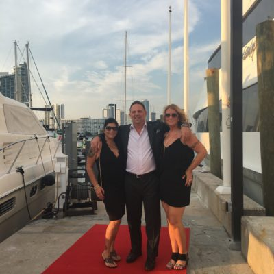 Elev8 Consulting Group CEO Angela Delmedico with sibling entrepreneurs Anthony Delmedico of Storm Ventures Group and Gina Delmedico of GLD Management Services Miami Florida