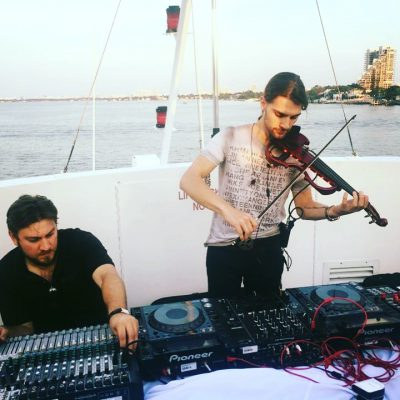 Elev8 Consulting Group at Conference Yacht Cruise Miami Florida with DJ Manifesto