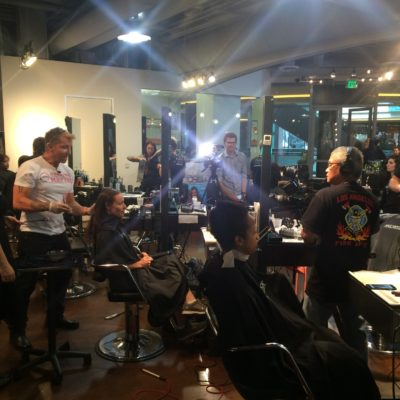 Elev8 Consulting Group Publicity Campaign for Makeovers That Matter Los Angeles with John Paul DeJoria Founder of Paul Mitchell
