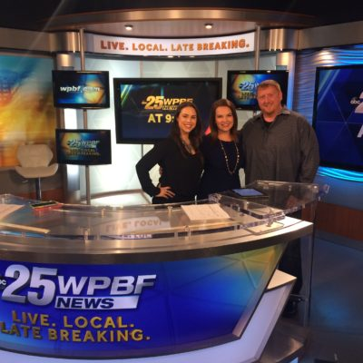 Elev8 Consulting Group Publicity Client Venture Construction Group on WPBF 25 Florida