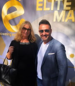 Elev8 Consulting Group CEO Angela Delmedico Meets Brad Lea at E2 Luncheon in Scottsdale AZ