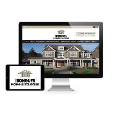 Iron Guys Roofing Website